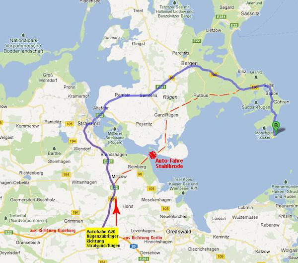 Anreise Zur Insel Wangerooge Mit Dem Auto Pkw: Anreise Zur Ferienwohnung